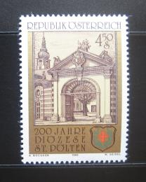 Poštovní známka Rakousko 1985 Diocéze v St. Poltenu Mi# 1814
