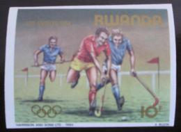 Poštovní známka Rwanda 1984 LOH Los Angeles neperf. Mi# 1279 B