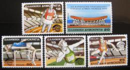 Poštovní známky Øecko 1985 ME v atletice Mi# 1575-79