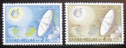 Poštovní známky Øecko 1970 Satelitní stanice Mi# 1043-44