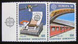 Poštovní známky Øecko 1988 Evropa CEPT Mi# 1685-86 A Kat 14€