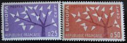Poštovní známky Francie 1962 Evropa CEPT Mi# 1411-12