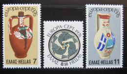 Poštovní známky Øecko 1976 Evropa CEPT Mi# 1232-34