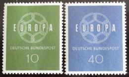 Poštovní známky Nìmecko 1959 Evropa CEPT Mi# 320-21