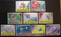 Poštovní známky Umm al-Kuvajn 1966 Století ITU Mi# 78-86