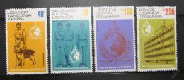 Poštovní známky K-U-T 1973 INTERPOL Mi# 259-62