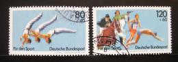 Poštovní známky Nìmecko 1983 Sporty Mi# 1172-73