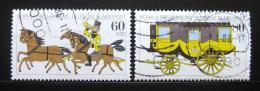 Poštovní známky Nìmecko 1985 Výstava MOPHILA Mi# 1255-56