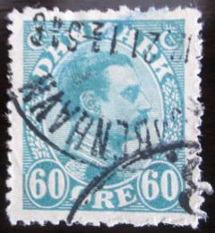 Poštovní známka Dánsko 1921 Král Christian X. Mi# 127