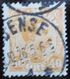 Poštovní známka Dánsko 1925 Král Christian X. Mi# 149