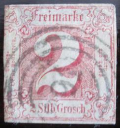 Poštovní známka Thurn a Taxis 1861 Èíselná hodnota Mi# 16 Kat 50€