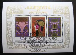 Poštovní známky Nìmecko 1977 Umìní Mi# Block 14
