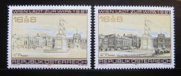 Poštovní známky Rakousko 1979-80 Výstava WIPA Mi# 1629,1662 Kat 7.80€