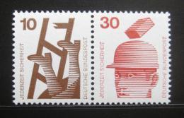 Poštovní známky Nìmecko 1974 Prevence nehod