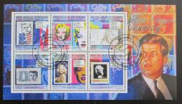 Poštovní známky Guinea 2009 John F. Kennedy a Marilyn Monroe Mi# 7121-26 12€
