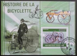 Poštovní známka Togo 2010 Historická kola Mi# Block 560 Kat 12€