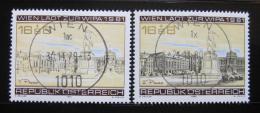 Poštovní známky Rakousko 1979-80 Výstava WIPA Mi# 1629,1662