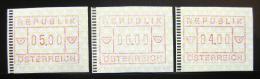 Poštovní známky Rakousko 1988 Známky z automatu, ATM Mi# 2