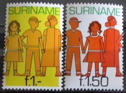 Poštovní známky Surinam 1981 Budoucnost mládeže Mi# 943-44