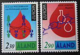 Poštovní známky Alandy 1994 Evropa CEPT Mi# 86-87