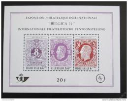 Poštovní známky Belgie 1970 BELGICA výstava Mi# Block 42