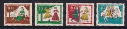 Poštovní známky Nìmecko 1965 Popelka Mi# 485-88