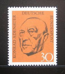 Poštovní známka Nìmecko 1968 Prezident Konrad Adenauer Mi# 567