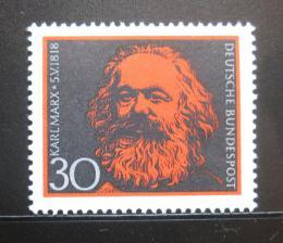 Poštovní známka Nìmecko 1968 Karel Marx Mi# 558