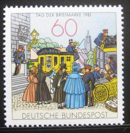 Poštovní známka Nìmecko 1981 Den známek Mi# 1112 Kat 1.40€