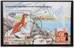 Poštovní známka Kuba 1983 Lasièka Mi# Block 77