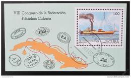 Poštovní známka Kuba 1982 Výstava známek Mi# Block 74