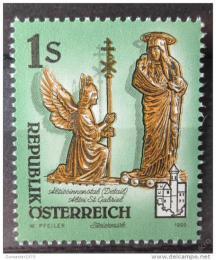 Poštovní známka Rakousko 1995 Umìlecká díla, kostely Mi# 2155