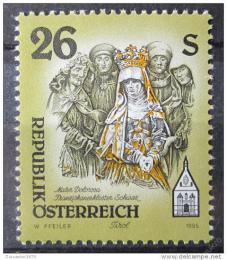 Poštovní známka Rakousko 1995 Umìlecká díla, kostely Mi# 2170