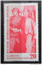 Poštovní známka DDR 1960 Výroèí osvobození Mi# 764