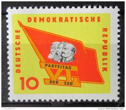 Poštovní známka DDR 1963 Kongres SED Mi# 941