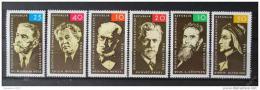 Poštovní známky DDR 1965 Osobnosti SC# 753-55