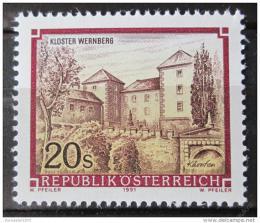 Poštovní známka Rakousko 1991 Klášter Wernberg Mi# 2025