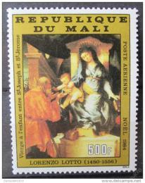 Poštovní známka Mali 1984 Umìní, vánoce Mi# 1032 Kat 5.50€
