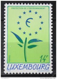Poštovní známka Lucembursko 1993 Ochrana životního prostøedí Mi# 1329