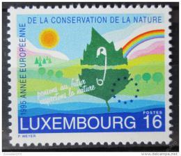 Poštovní známka Lucembursko 1995 Ochrana pøírody Mi# 1373