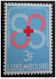 Poštovní známka Lucembursko 1968 Dárcovství krve Mi# 778