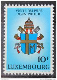 Poštovní známka Lucembursko 1985 Erb papeže Mi# 1124