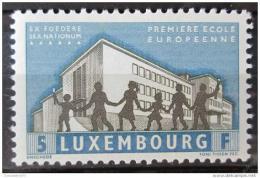 Poštovní známka Lucembursko 1960 První evropská škola Mi# 621