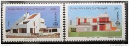 Poštovní známky Kypr Tur. 1987 Evropa CEPT, architektura Mi# 205-06