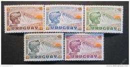 Poštovní známky Uruguay 1959 Národní zotavení Mi# 857-61