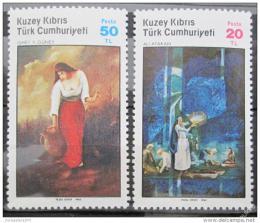 Poštovní známky Kypr Tur. 1985 Umìní Mi# 170-71