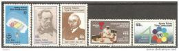 Poštovní známky Kypr Tur. 1985 Výroèí a události Mi# 174-78
