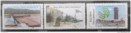 Poštovní známky Kypr Tur. 1986 Projekty rozvoje Mi# 192-94