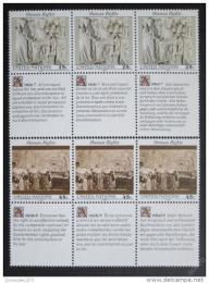 Poštovní známky OSN New York 1990 Lidská práva Mi# 606-07