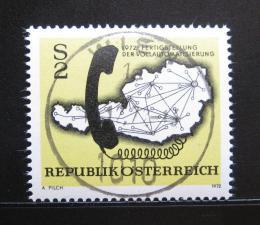 Poštovní známka Rakousko 1972 Telefonní systém Mi# 1409